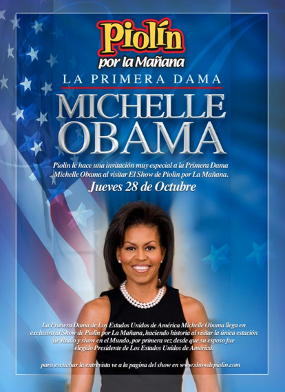 Michelle Obama Piolin Interview