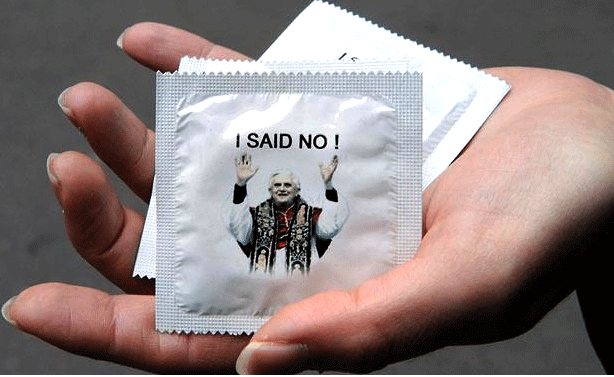 Pope: Condoms are OK (in certain circumstances)