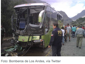 Andes Bus Accident Chile, Argentina