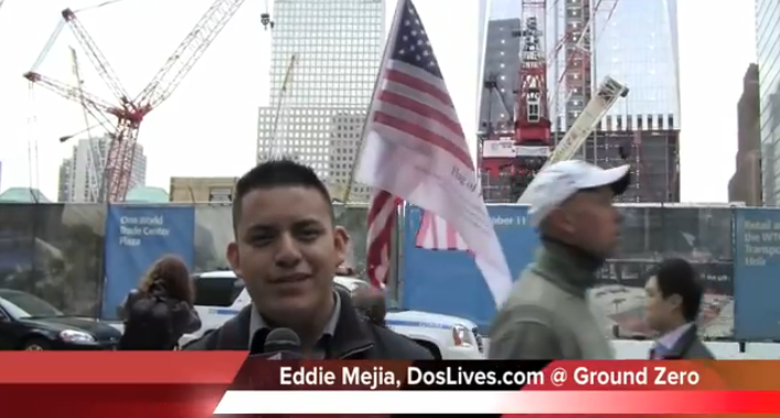 Latino Reaction at Ground Zero to the Death of Osama Bin Laden