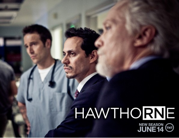 Marc Anthony is back for another season of Hawthorne