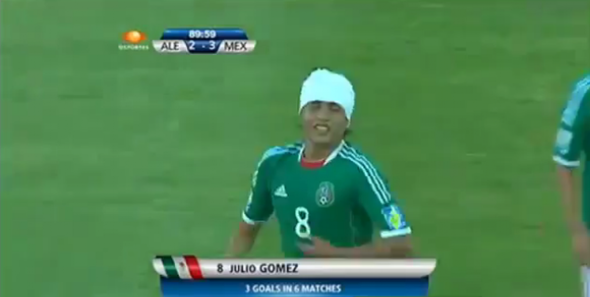 Juio Gomez Mexico Bicycle Kick