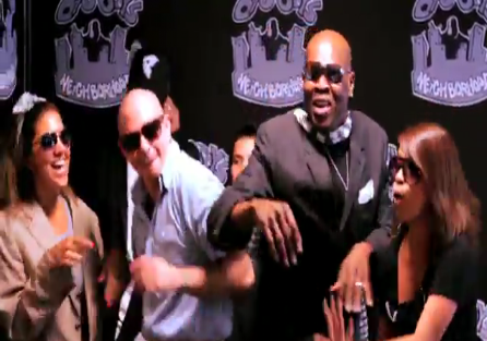 "Pitbull performs ""Give me Everything"" live on Big Boy's Neighborhood"