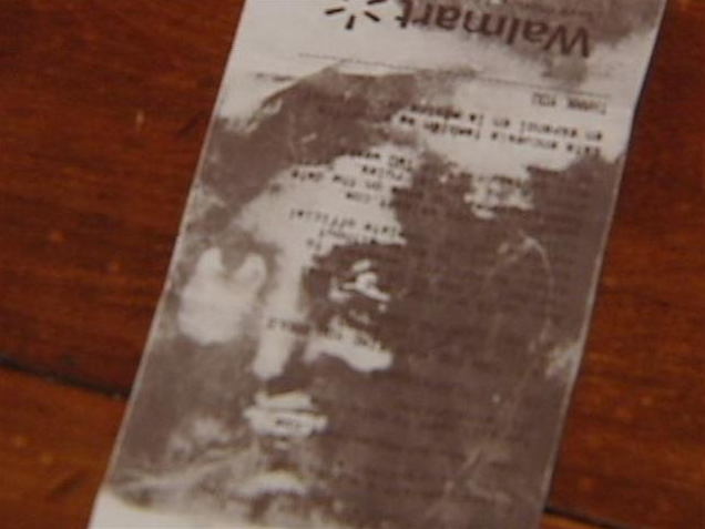 South Carolina couple see Face of Jesus Christ in Wal-Mart Receipt