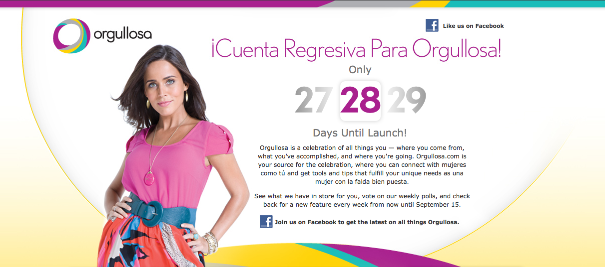 Procter & Gamble targets Latinas with new Orgullosa Website