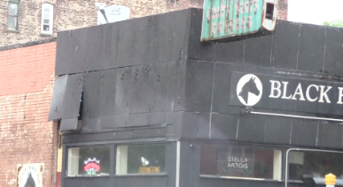 Brooklyn Bar Siding Blows Off Irene Winds
