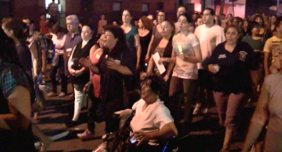 Brooklyn Latinos Join in Take-Back-the-Streets Rally after Series of Sex Assaults