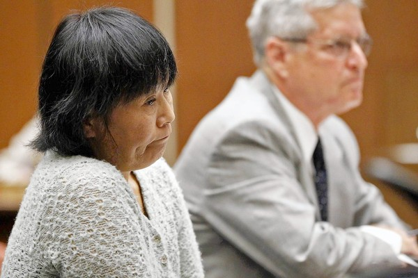 Eun Chavis in court Oct. 4.   Credit: Al Seib / Los Angeles Times