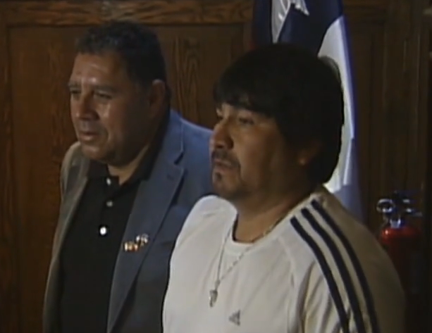 Two Chilean Miners Remember One Year Later from Washington D.C.