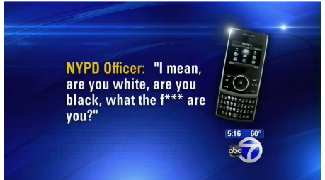 Racist NYPD Officer