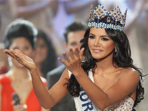 WorldView Video: Miss Venezuela Crowned Miss World in London