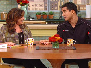 "Mario Lopez Drops by Rachael Ray & Shares his ""Mexican Rachael Ray"""