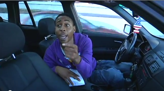 Video: Man Who Gets CHP Ticket Yells at KRON 4 Reporter