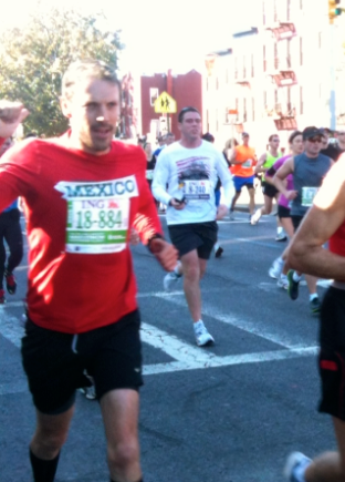 NYC Marathon Mexican Runner