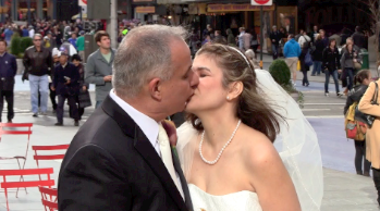 Video: 11 Couples Wed at 11 a.m. at Times Square on 11.11.11