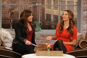 Sofia Vergara on Rachael Ray 300x199 Sofia Vergara Talks Fashion, Emmys and Her Son, Manolo, on Rachael Ray