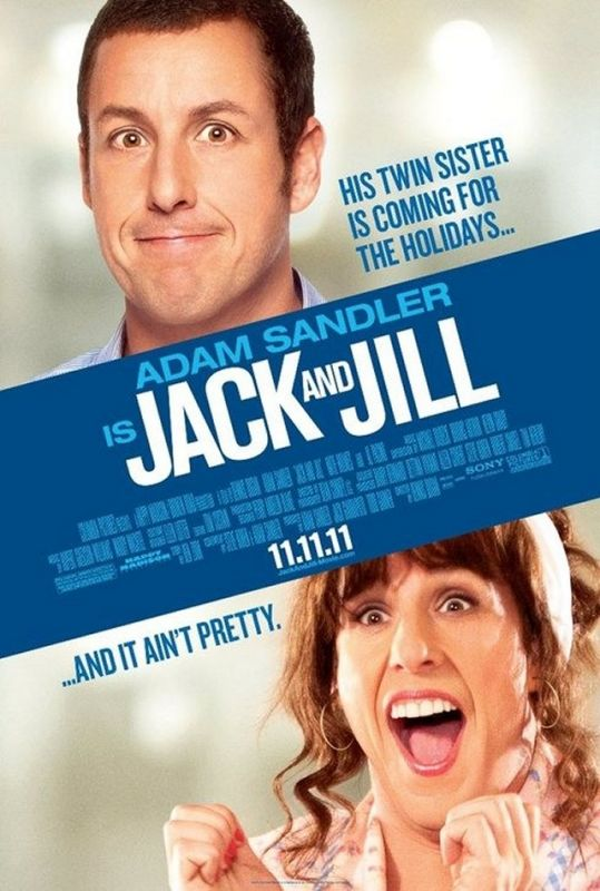 Jack and Jill movie trailer