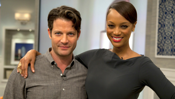 Berkus with Tyra Banks