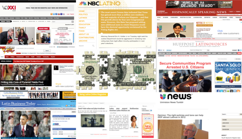 Slideshow: English-language News/Lifestyle Sites Compete for Latino Audience