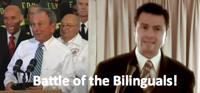 Vote for the Battle of the 'Billinguals': Michael Bloomberg and Peña Nieto
