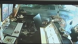 WorldView Video: Boyfriend Chases His Girlfriend Into A Gas Station Store With His Car!