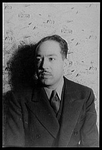 240px LangstonHughes 205x300 Slideshow: James Mercer Langston Hughes Harlem Home