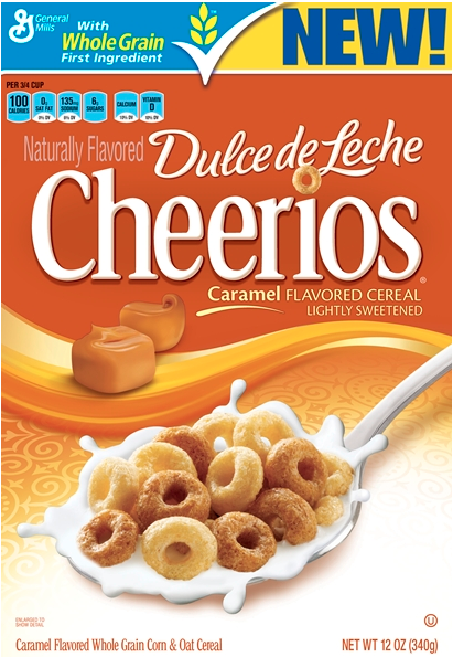 Dulce de leche Cheerios will be a part of General Mills' New Products for 2012/General Mills