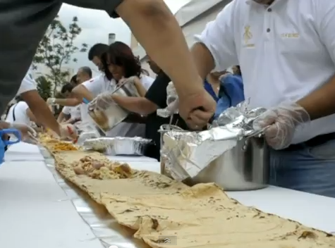 WorldView Video: New World Record for 50-Meter-Long Taco
