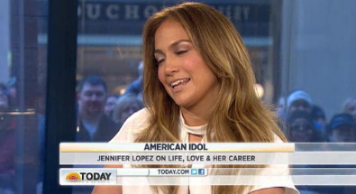 Jennifer Lopez Today SHow Interview