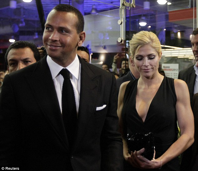A-Rod and Torrie Wilson Make Public Debut in Mexico City
