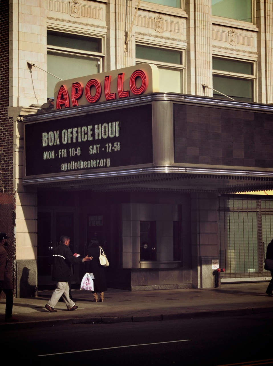 Apollo Theatre Harlem New York