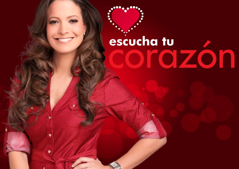 "Jeannette Torres, Discovery Familia's spokesperson and the presenter of the PSA ""Escucha tu corazon"""