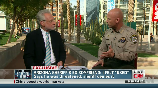 WorldView Video: CNN Exclusive Interview with Sheriff Paul Babeu