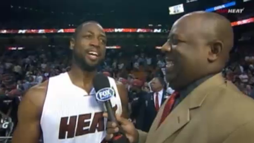 Dwyane Wade Miami Heat Win Over Kings