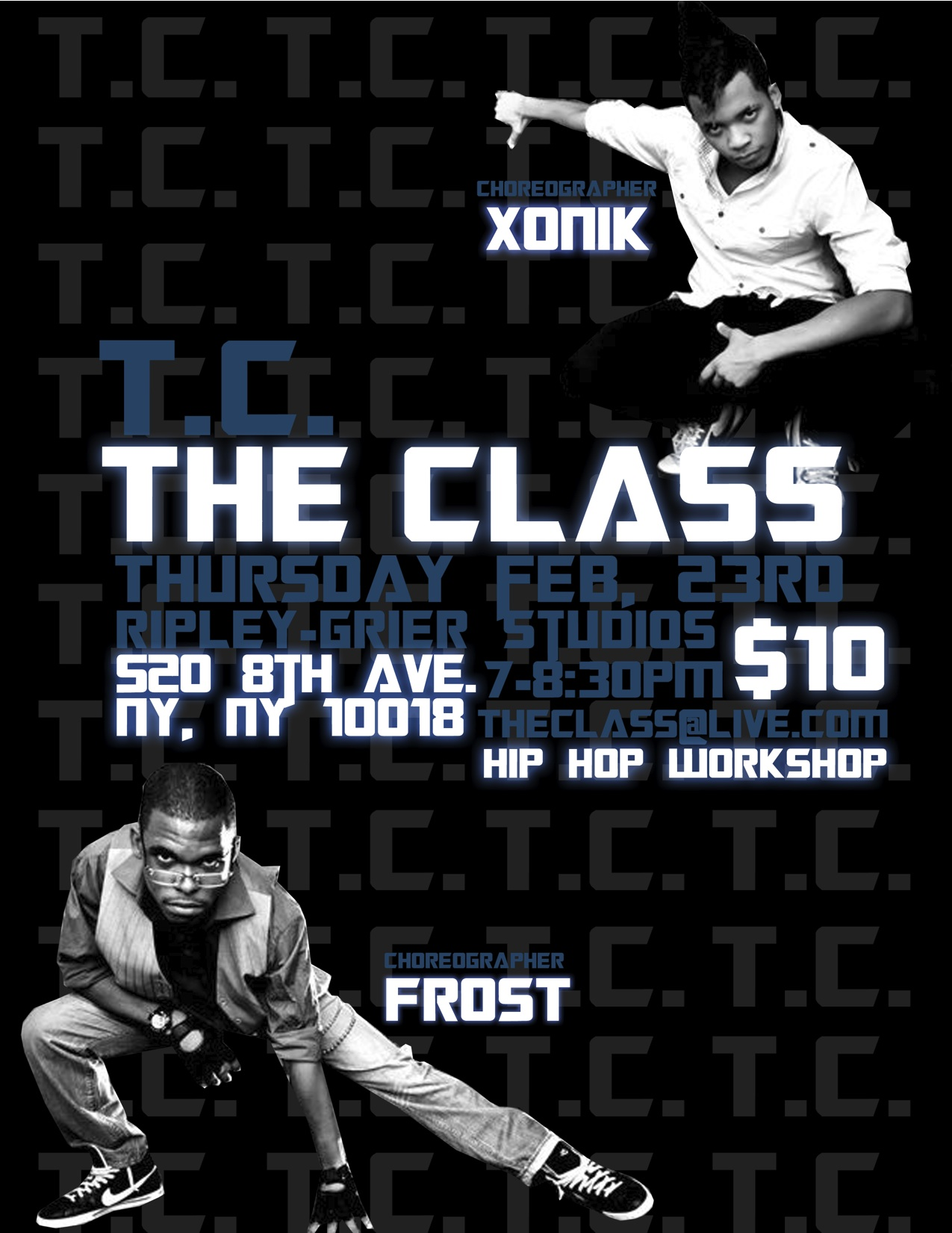 'The Class' NYC Hip Hop Workshop this Thursday