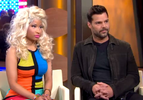 WorldView: Ricky Martin and Nicki Minaj Viva Glam GMA Interview