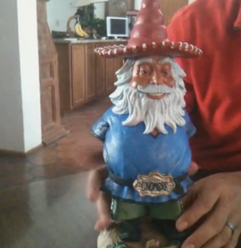 First HIspanic Gnome Gnombre