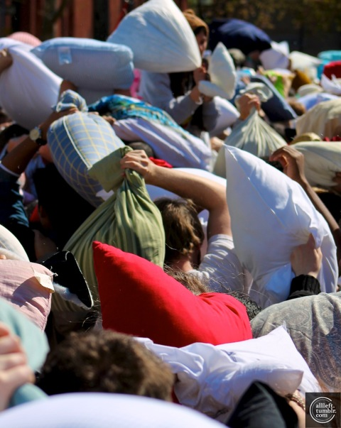 International Pillow Fight Day 2012