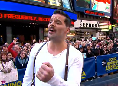 ricky martin evita gma WorldView: Ricky Martin Performs High Flying Adored (Evita on Broadway) On GMA