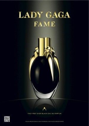 'FAME ' The First Ever Black Perfume By Lady Gaga