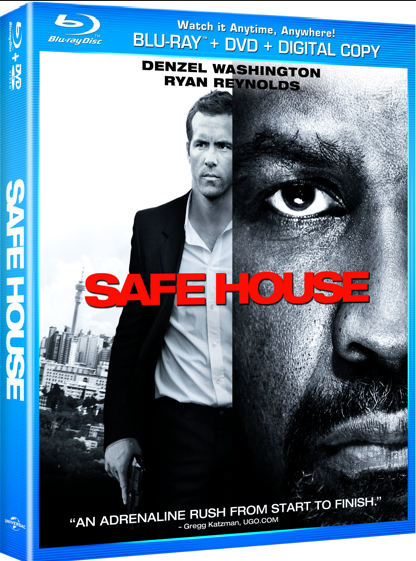 Safe House DVD Combo Pack