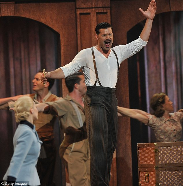 RIcky MArtin on tony awards