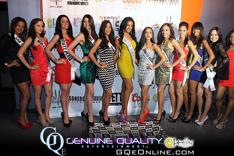 Meet the 23 Candidates Competing for Miss Republica Dominicana U.S. 2012