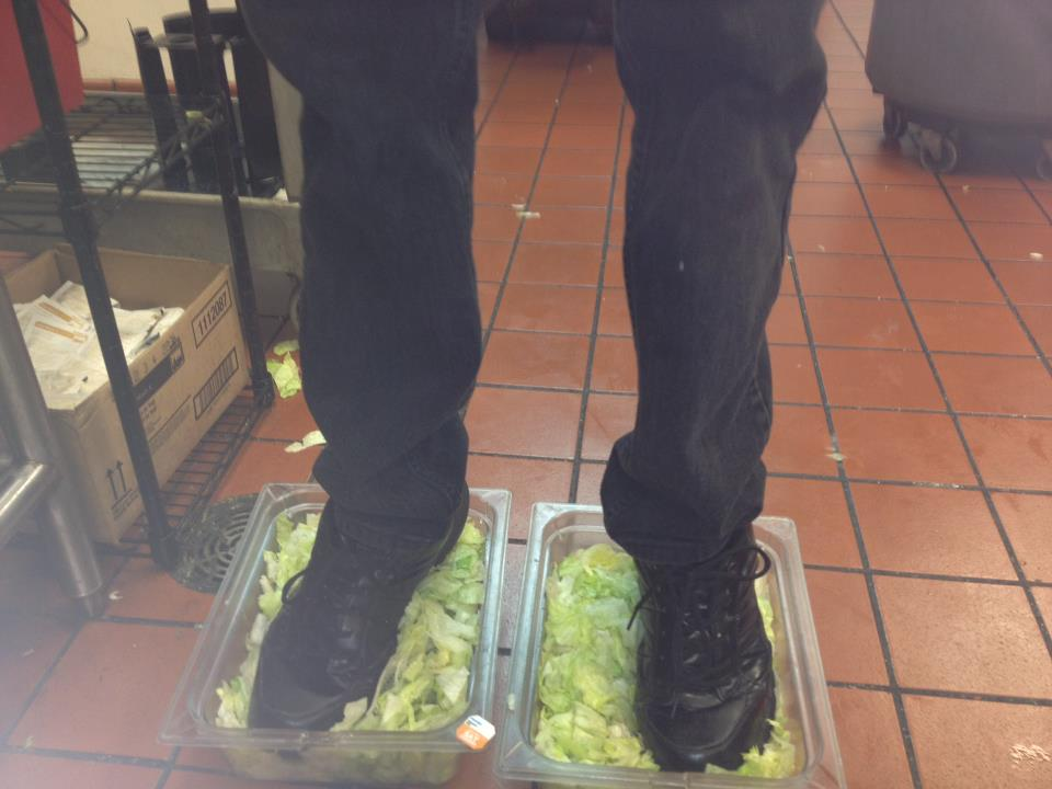 Burger King Employees Fired after Feet-in-Lettuce Photo Hits Web