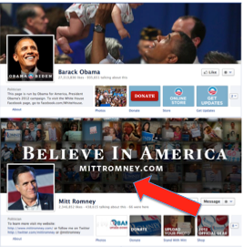 Romney Facebook Cover Photo Violates Facebook Rules