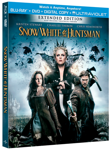 Dos Lives Giveaway: Snow White And the Huntsman Blu-Ray/DVD