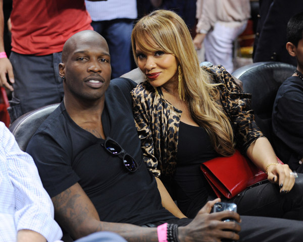 chad ochocinco evelyn lozada VH1 Pulls Reality Show Ev And Ocho after Chad Johnson Head Butts Wife, Basketball Wives Star Evelyn Lozada