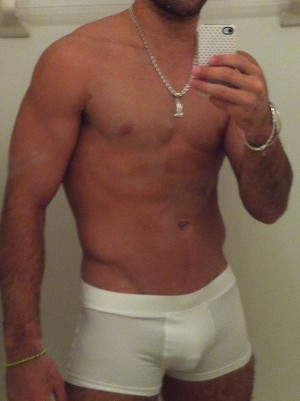 danell 6 U.S. Gymnast Danell Leyva Leaked iPhone Photos (Almost NSFW)