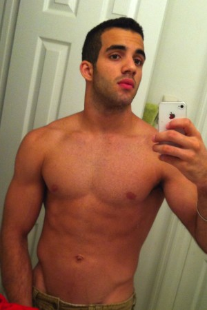 "WorldView: Danell Leyva ""Proud"" of his Semi-Nude Pics"