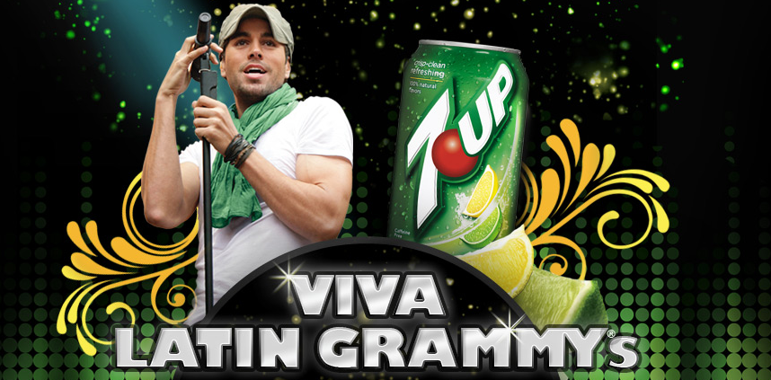 Enrique Iglesias 7up Latin Grammy Win Tickets to the Latin Grammy Awards and Private Enrique Iglesias Concert!